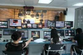惠州电视台演播室