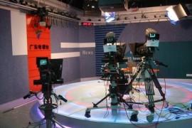 广东电视台新闻演播室