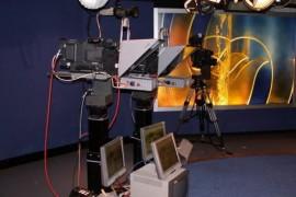 凤凰卫视新闻演播室